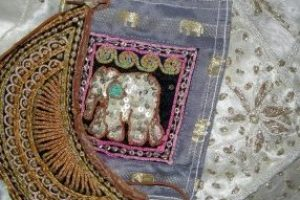 indian textile arts upcycle-the remix vintage fashion