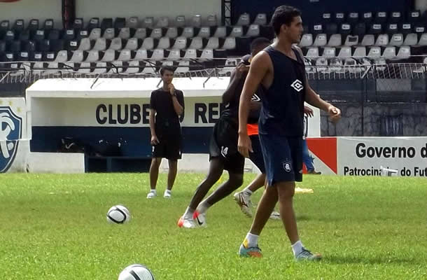 Treino do time sub-19