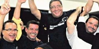 Sérgio Cabeça foi reeleito com grande diferença de votos