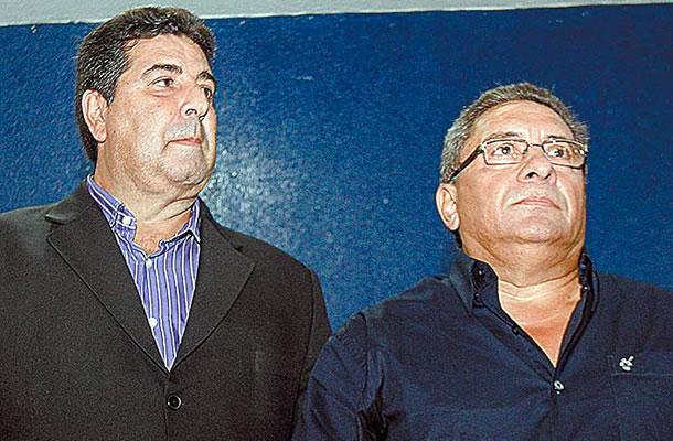Zeca Pirão e Sérgio Cabeça