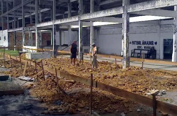 Baenão vai ter uma rampa de acesso pelo lado da Avenida Almirante Barroso