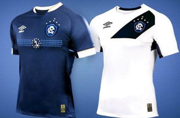 Clube do Remo apresenta novos uniformes para a temporada 2015  ef8bdff85807a