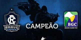 Remo Brave, campeão da Brasil Game Cup 2016 de CS:GO