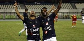Remo 3x0 Juazeirense-BA (Rodriguinho e Fernandes)