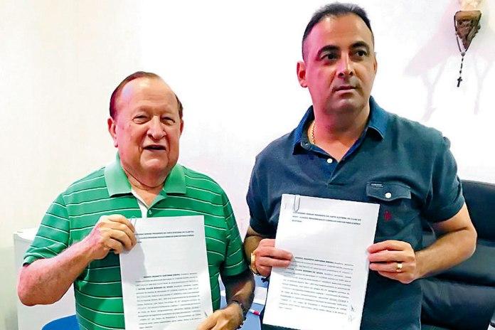 Manoel Ribeiro e Hilton Benigno