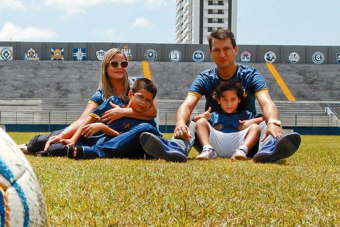 João Nasser Neto (Netão) e família