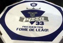 Pizza 33, pra quem tem fome de Leão!