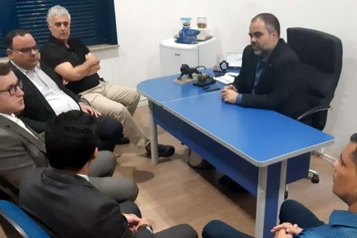 Reunião com comissão de planejamento