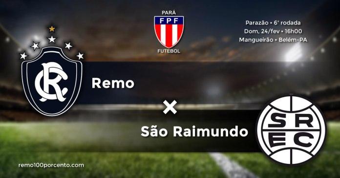 Remo × São Raimundo