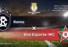 Remo × Boa Esporte-MG