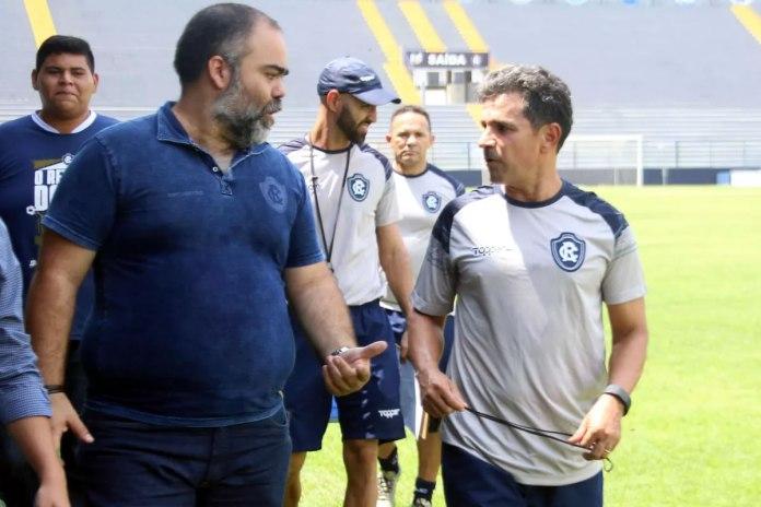 Fábio Bentes e Eudes Pedro