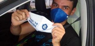 Máscaras oficiais do Clube do Remo