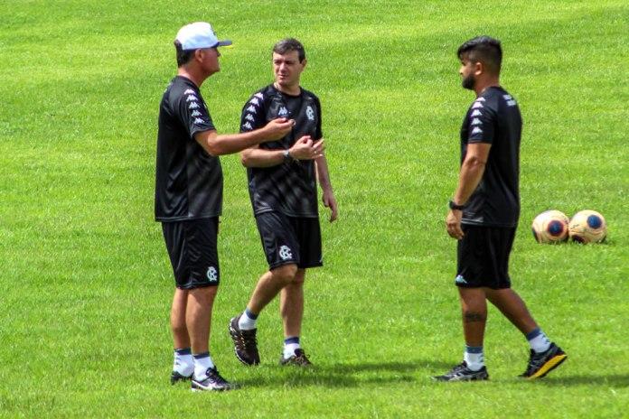 Mazola Júnior, Rony Silva e Rafael Raposo