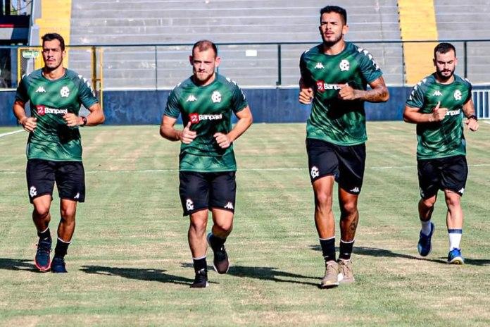 Lucas Siqueira, Julio Rusch, Fredson e Gustavo Ermel