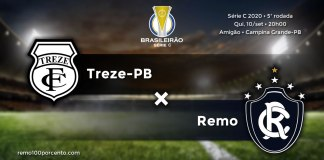 Treze-PB × Remo