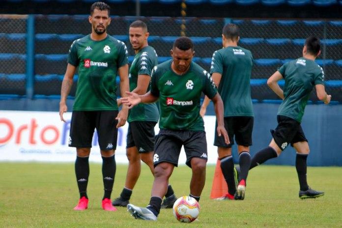 Marlon, Ricardo Luz, Eron, Lucas Siqueira e Gustavo Hebling