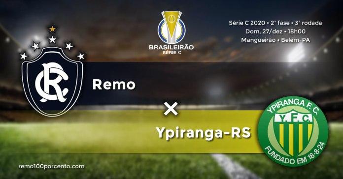 Remo × Ypiranga-RS