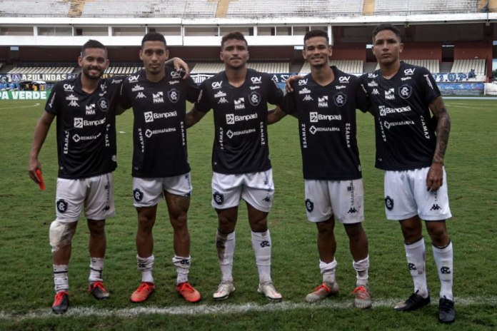 Remo 6×2 Manaus-AM (Wallace, Hélio Borges, Lailson, Pingo e Tiago Miranda)