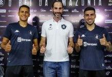 Renan Gorne, Thiago Alves e Thiago Ennes