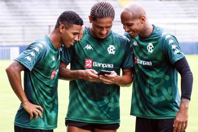 Dioguinho, Felipe Gedoz e Wellington Silva