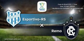 Esportivo-RS × Remo