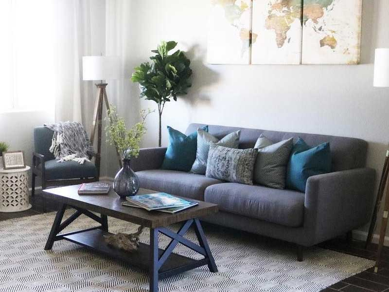 7 Ways to Style a Gray Sofa in Your Home