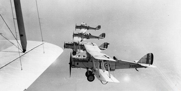 rAF biplanes FB