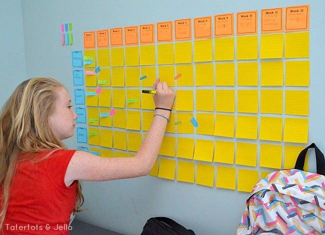 Organized School Calendar