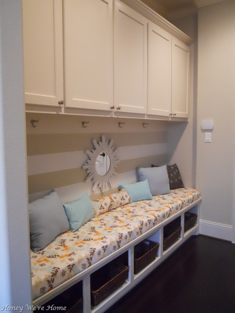 Organized Hall Mudroom