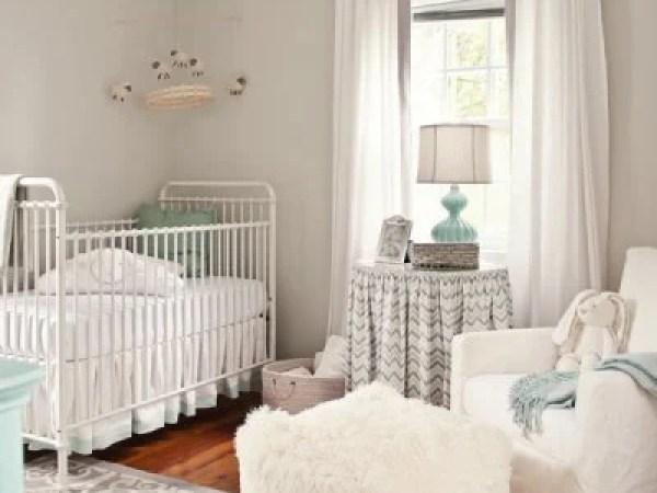 Grey and White Neutral Nursery