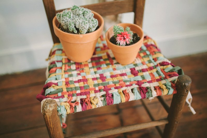Colorful Woven Chair