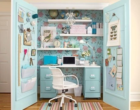 Feminine Floral Office