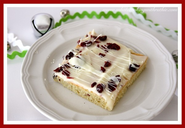 Starbucks Cranberry Bliss Bars
