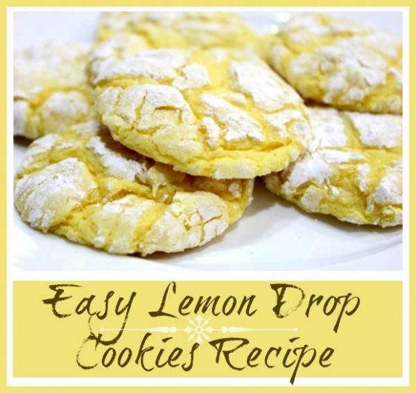Easy Lemon Drop Cookies