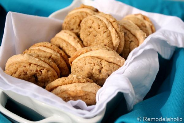 Homemade Nutter Butters Peanut Butter Cookies