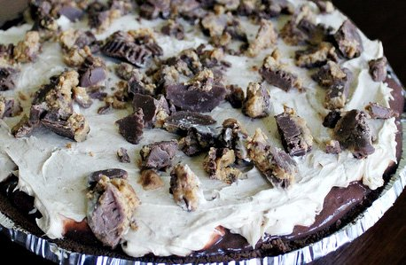 Easy No-Bake Reese's Pie