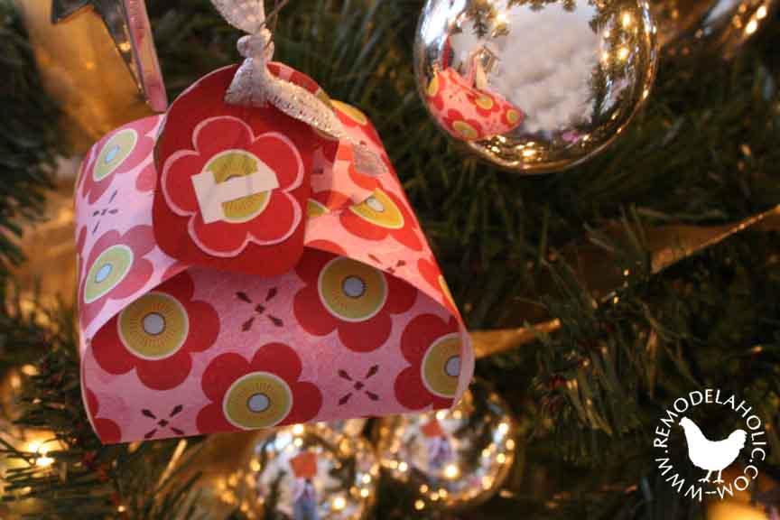 Puffy Folded Favor Box Ornament