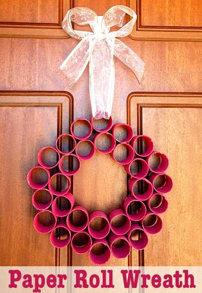 toilet paper roll advent wreath remodelaholic 35 paper decorations to make 7254