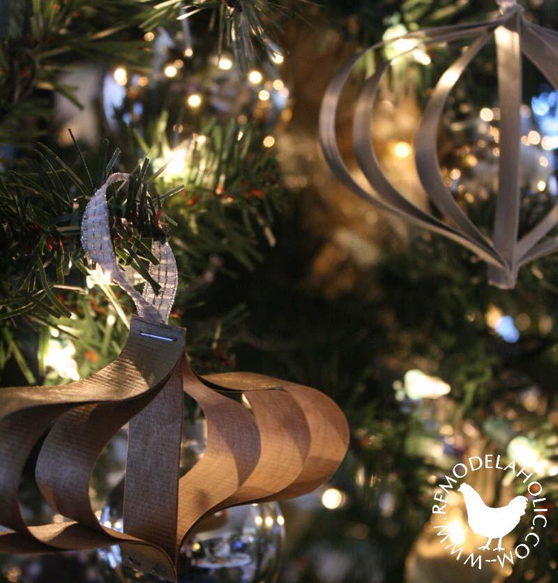 Simple Modern Paper Strip Ornaments
