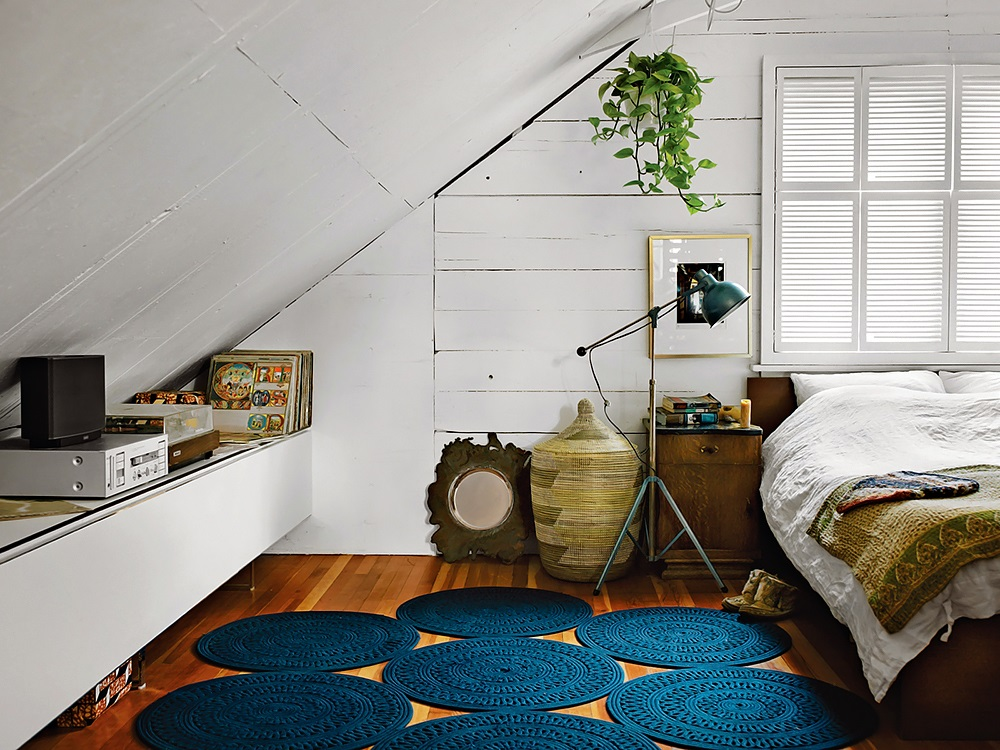 Bright and Global Bedroom