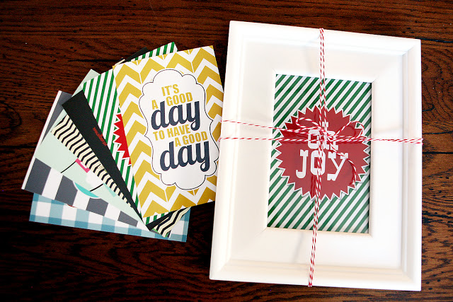 Seasonal Printables and Frame