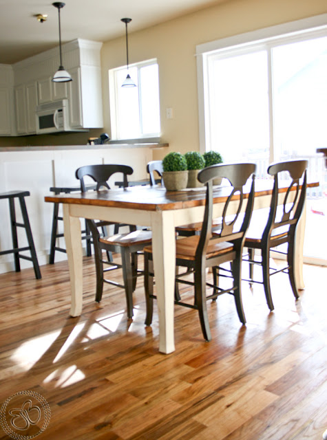 Amazing Remodelaholic This Table Is The Tops Guest Party Highlight Andrewgaddart Wooden Chair Designs For Living Room Andrewgaddartcom