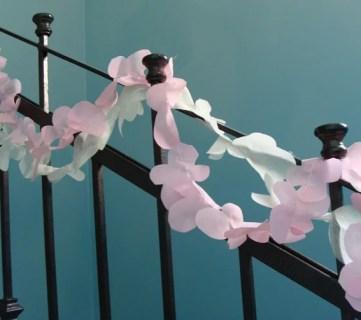 Blossoming Flower Garland Idea