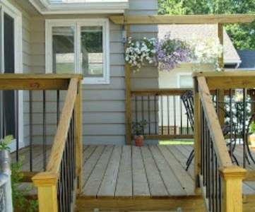 new deck and patio makeover