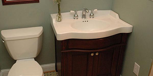 2perfection Decor Basement Coastal Bathroom Reveal: Basement Bathroom Renovation