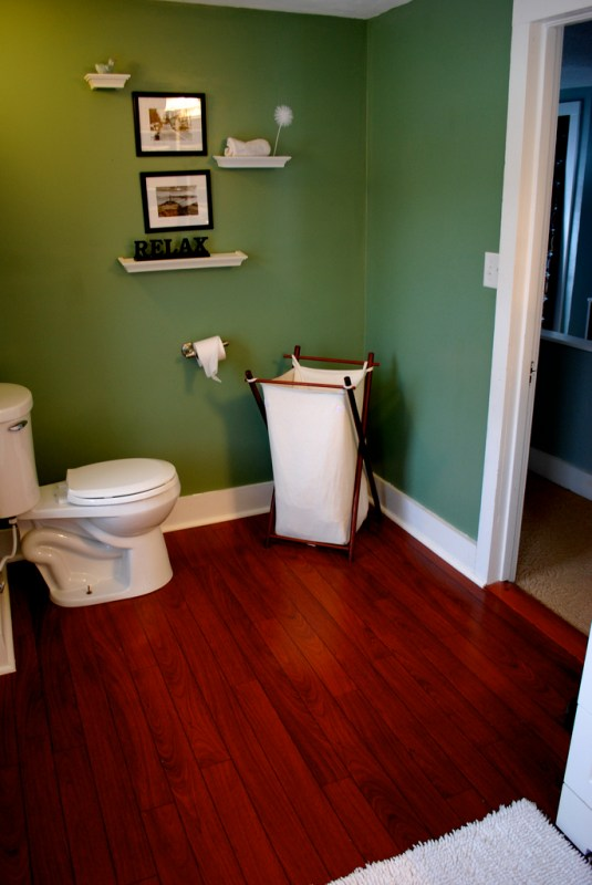 5 Add a bathroom by transforming a small bedroom, by Newly Woodwards featured on @Remodelaholic.com