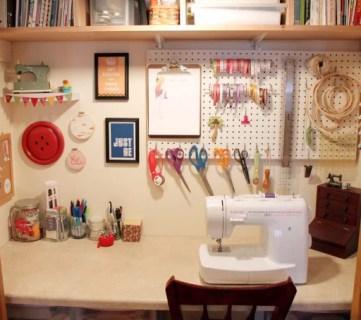 Crafting closet sewing closet