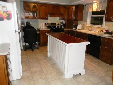kitchen island from dresser3