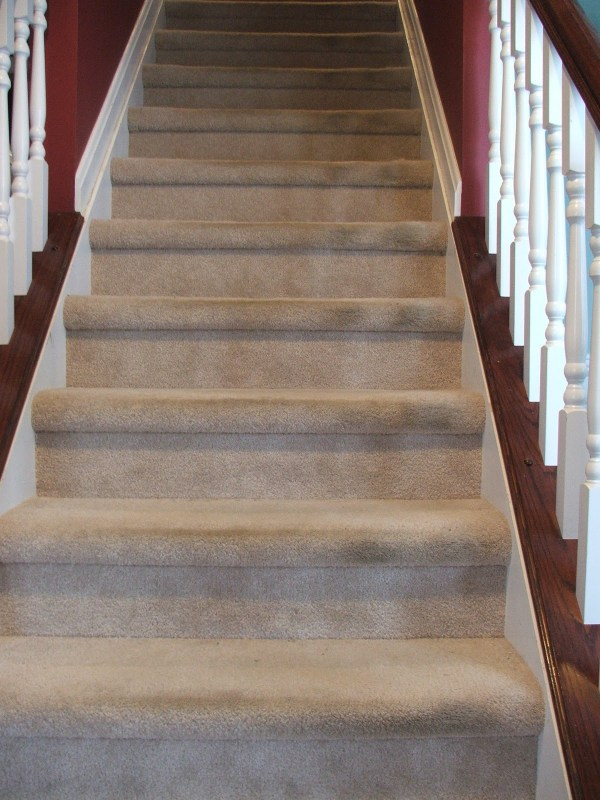 3 Tutorial For Going From Carpeted Stairs To Wooden Treads, By Cleverly Inspired, Featured On @Remodelaholic