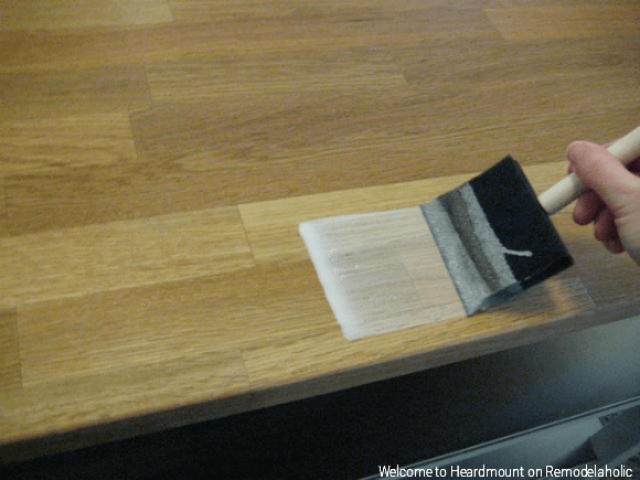 How to Apply IKEA Wood Oil, Welcome To Heardmount On Remodelaholic